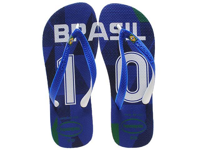 Chinelo Masculino Havaianas Teams ii Brasil Azul