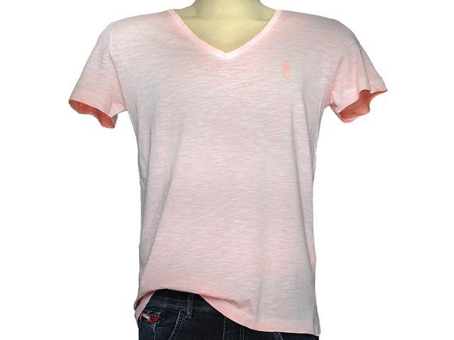 Camiseta Masculina Coca-cola Clothing 353203702 Salmão