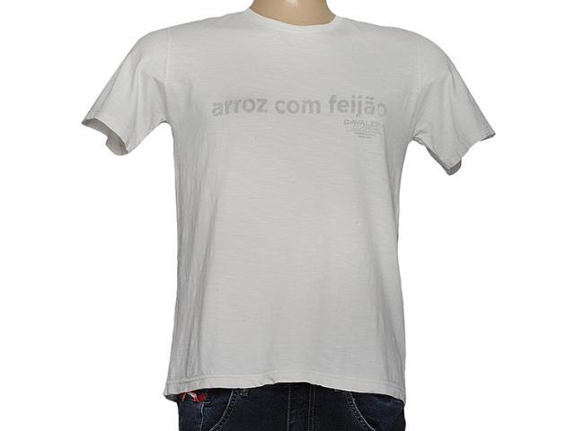 Camiseta Masculina Cavalera Clothing 01.01.7219 Gelo