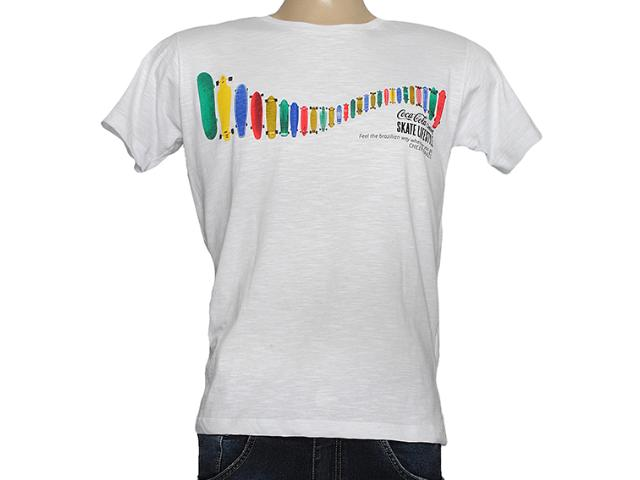 Camiseta Masculina Coca-cola Clothing 353203692 Branco