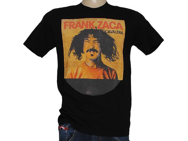 Camiseta Masculina Cavalera Clothing 01.01.7377 Preto