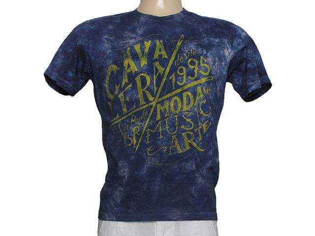 Camiseta Masculina Cavalera Clothing 01.01.7396 Marinho