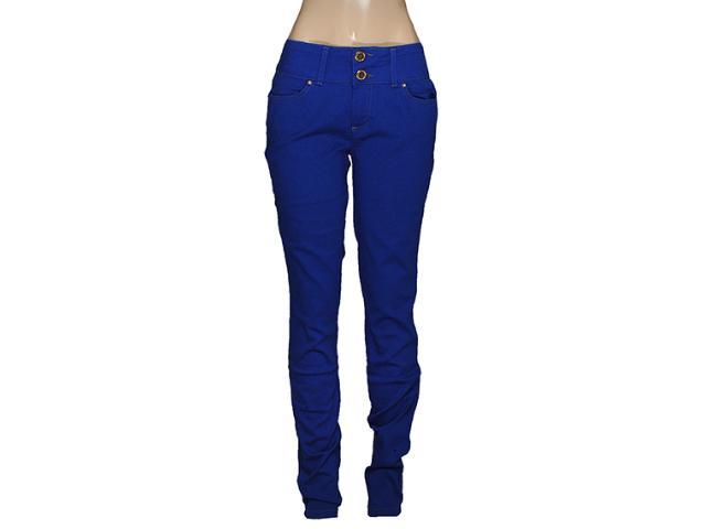 Calça Feminina Index 01.02.000229 Azul Bic