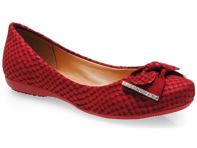 Sapatilha Feminina Bottero 206202 Rouge
