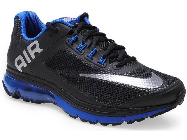 Tênis Masculino Nike 555331-019 Air Max Excellerate + 2 Preto/azul