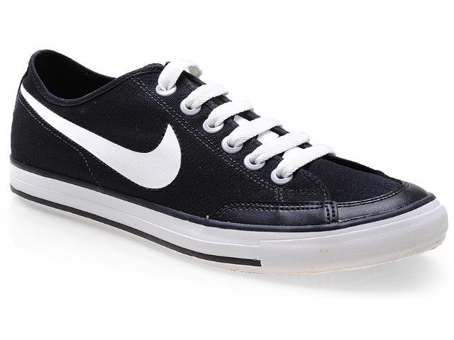 Tênis Masculino Nike 474141-010 go Low Canvas Preto/branco