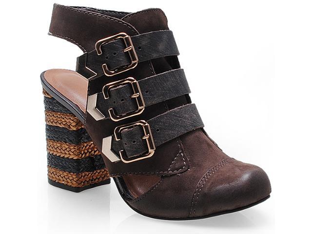 Sapato Feminino Tanara 5582 Café