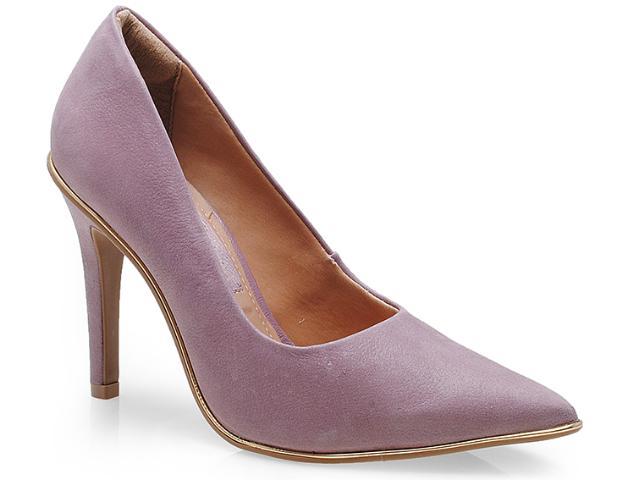 Sapato Feminino Ramarim 14-24104 Orquidea/ouro