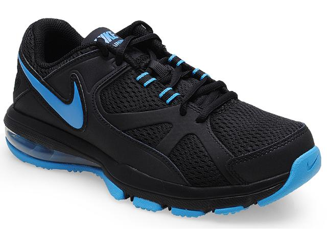 Tênis Masculino Nike 579940-014 Air Max Compete tr Preto/azul