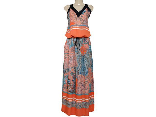 Vestido Feminino Borda Barroca 519245 Preto