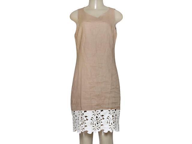 Vestido Feminino Borda Barroca 519255 Cru