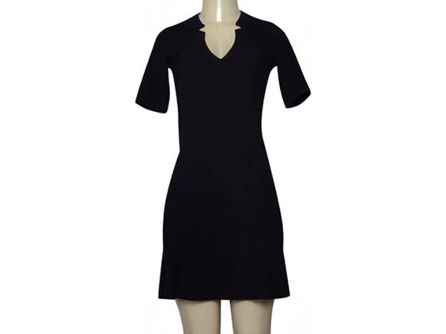 Vestido Feminino Borda Barroca 4001410 Preto