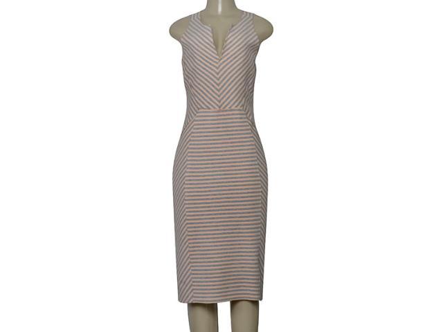 Vestido Feminino Borda Barroca 4001526 Nude Listrado