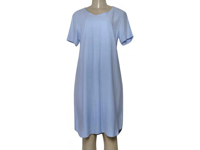 Vestido Feminino Borda Barroca 4001309 Azul