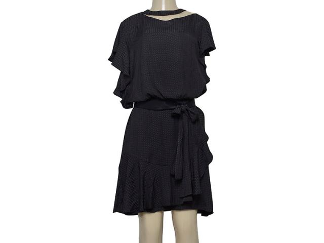 Vestido Feminino Borda Barroca 4001626 Preto