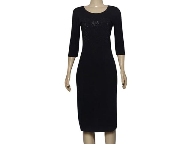 Vestido Feminino Cavalera Clothing 11.03.1023 Preto