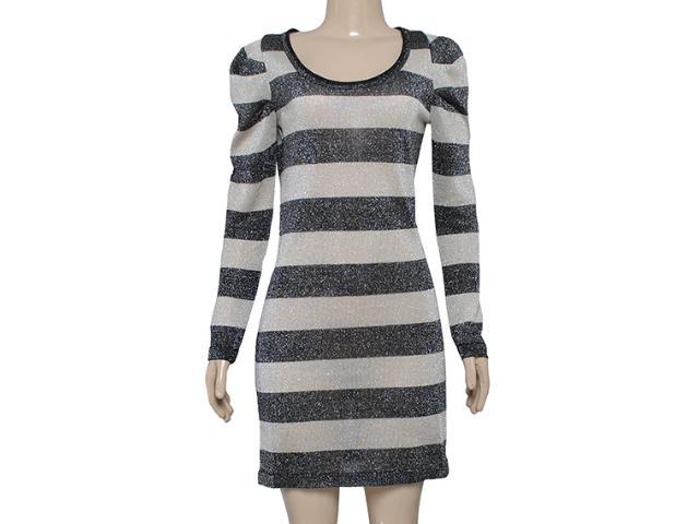 Vestido Feminino Checklist 76.03.0002 Preto/prata