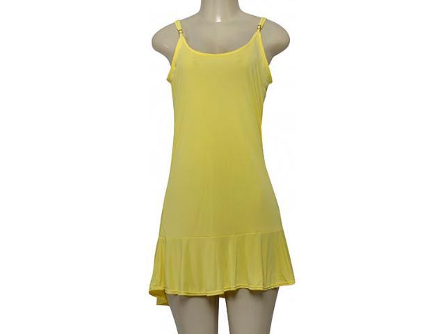 Vestido Feminino Cia Maritima 2760  171 Amarelo