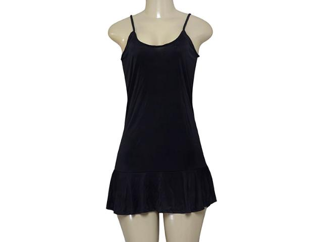 Vestido Feminino Cia Maritima 1405 077 Preto