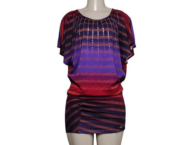 Vestido Feminino Coca-cola Clothing 443201283 Roxo/violeta