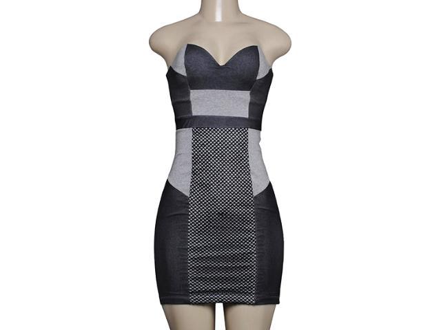 Vestido Feminino Coca-cola Clothing 443201412 Mescla Escuro