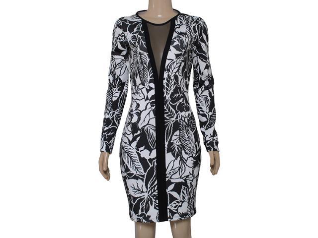 Vestido Feminino Coca-cola Clothing 443201822 Branco/preto