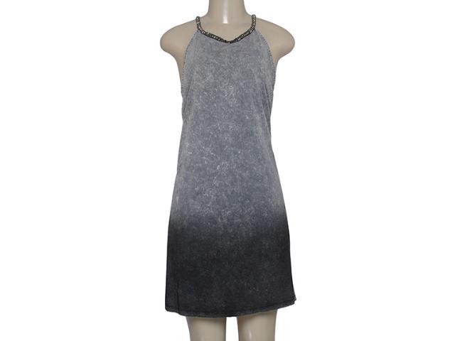 Vestido Feminino Coca-cola Clothing 443201978 Preto/cinza