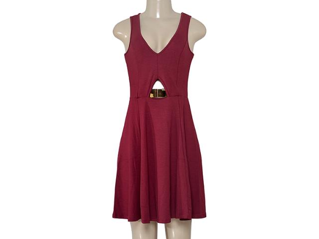 Vestido Feminino Coca-cola Clothing 443202052 Vermelho