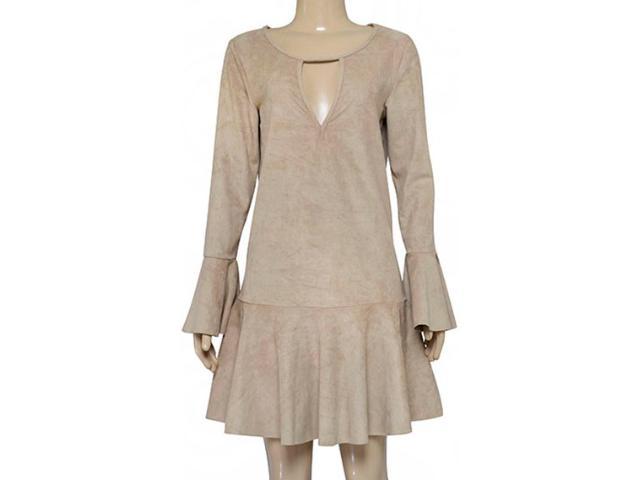 Vestido Feminino Coca-cola Clothing 443202090 Bege Macadam