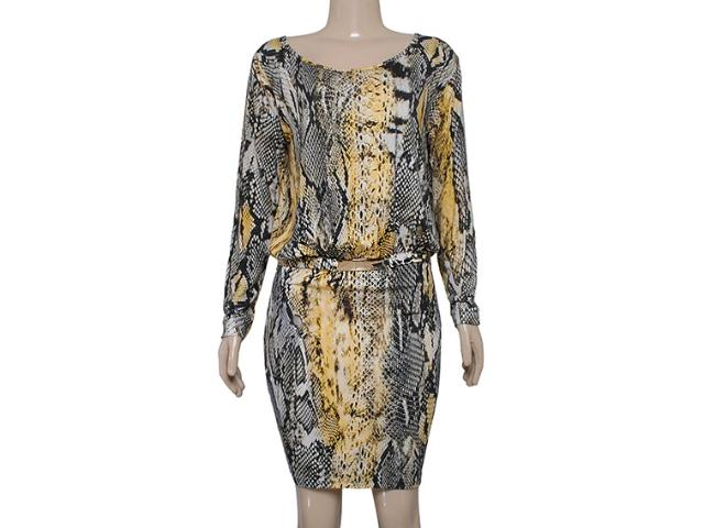 Vestido Feminino Colcci 440104984 Cobra Amarelo