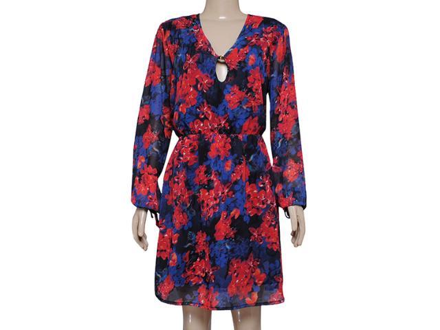 Vestido Feminino Dopping 018059025 Floral Aquarela