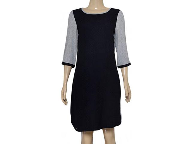 Vestido Feminino Dopping 018164021 Preto/mescla