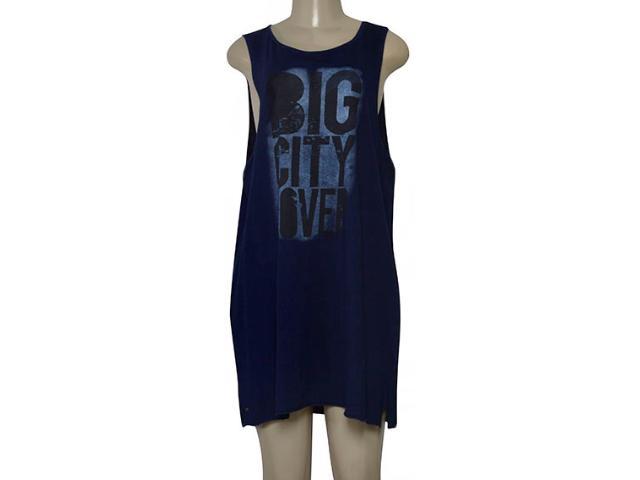 Vestido Feminino Dopping 018068515 Azul