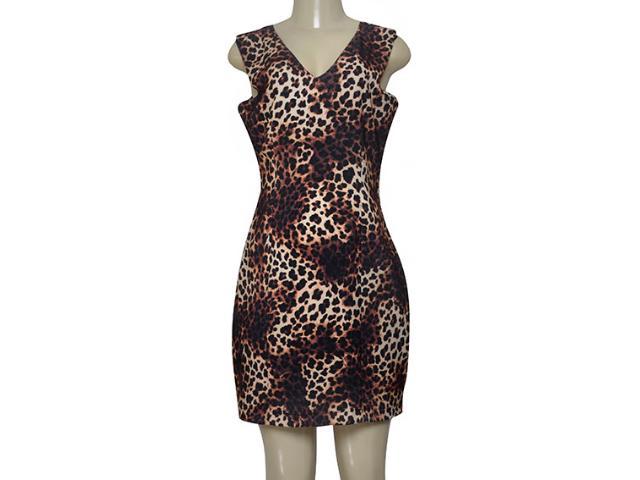 Vestido Feminino Dopping 018063011 Onca