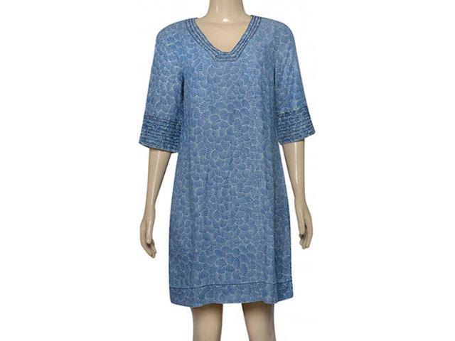 Vestido Feminino Dopping 018068509 Azul