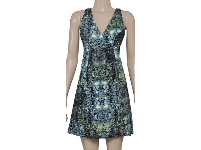 Vestido Feminino Forum 444603731 Verde Estampado