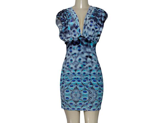 Vestido Feminino Forum 444604422 Var 12 Azul Estampado
