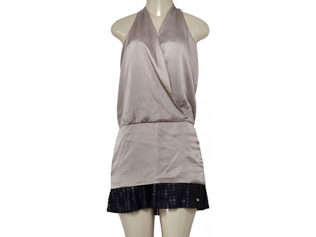 Vestido Feminino Index 13.02.000080 Dourado