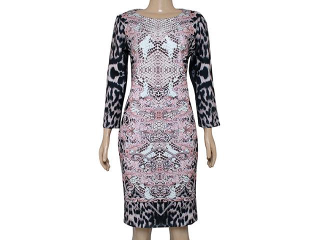 Vestido Feminino Intuição 141610 Rose