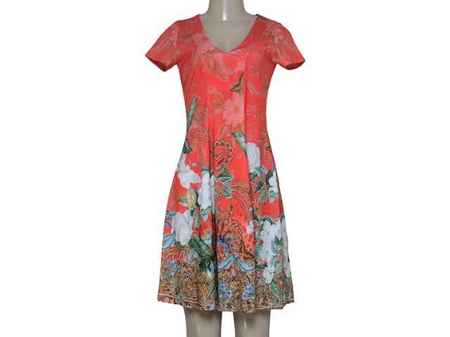 Vestido Feminino Intuição 152640 1946 Laranja