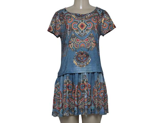 Vestido Feminino Intuição 152552 Estampado