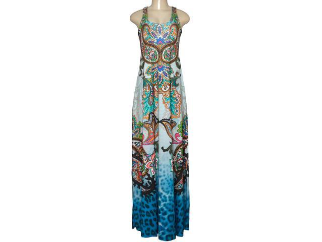 Vestido Feminino Intuição 152646 1937 Estampado Color