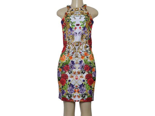Vestido Feminino Intuição 122407 Estampado