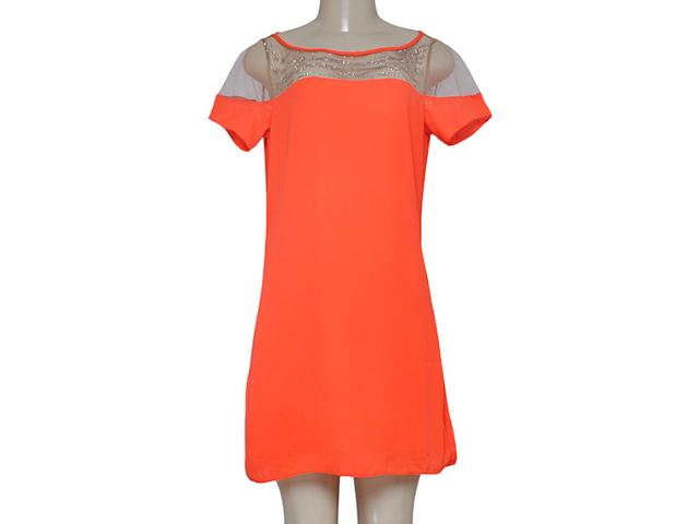 Vestido Feminino Lado Avesso 90525 Laranja