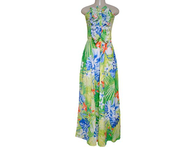 Vestido Feminino Lado Avesso 72601 Verde