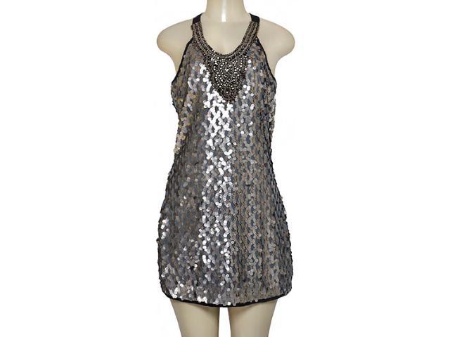Vestido Feminino Lado Avesso 89675 Prata