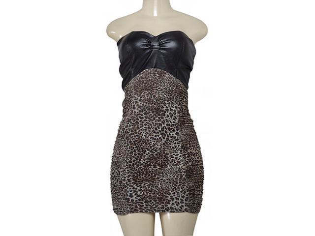 Vestido Feminino Lado Avesso 78635 Marrom