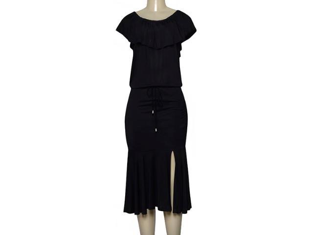 Vestido Feminino Lado Avesso 102551 Preto