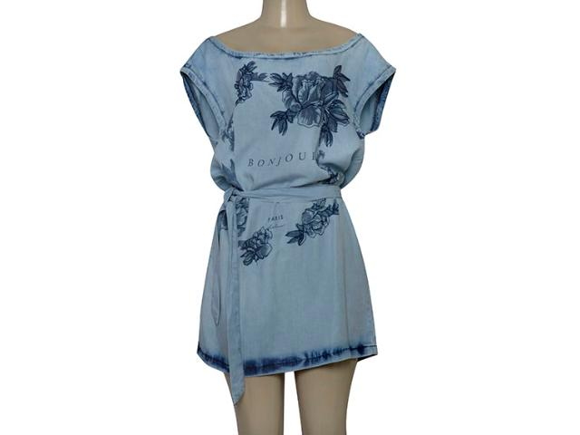 Vestido Feminino Lado Avesso 103223 Jeans