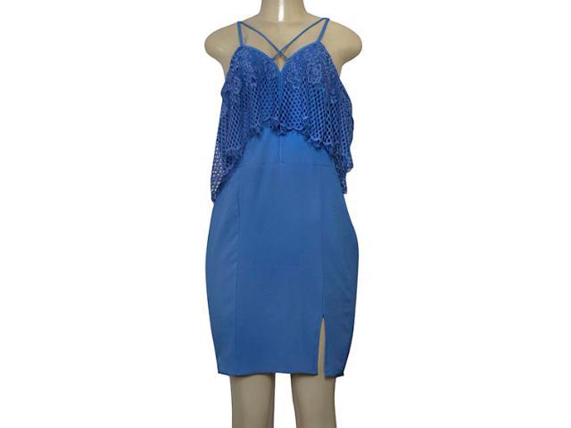 Vestido Feminino Lado Avesso 103551 Azul